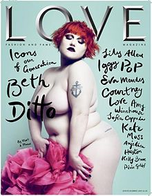 Beth Ditto, musa rock n'roll