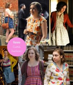 Estilo da personagem Hanna (série Girls)